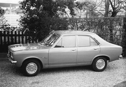 The Hillman Avenger was produced between 1970 and 1981. Hillman Avenger GL 1970.jpg