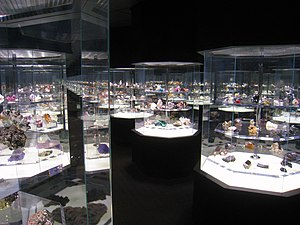 Henry Hillman - Hillman Hall of Minerals and Gems at the Carnegie Museum of Natural History, Pittsburgh.