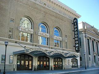 Hippodrome Theatre (Baltimore) United States historic place