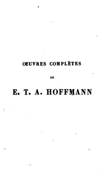 File:Hoffmann - Contes fantastiques I.djvu