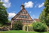 Hohenloher Freilandmuseum - Baugruppe Hohenloher Dorf - Haus Frank aus Elzhausen - Ansicht von OSO.jpg