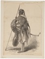 Homo sapiens - Ethiopië - 1868 - Print - Iconographia Zoologica - Special Collections University of Amsterdam - UBA01 IZ19400185.tif