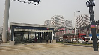 Dongxihu District - Hongtu Boulevard Station