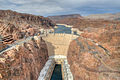Hoover Dam - View from the Hoover Dam Bypass Bridge - 1 June 2011.jpg