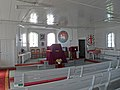 Hopedale Moravian Church, NL, interior.JPG