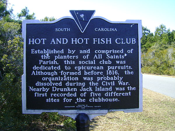 Georgetown county south carolina for Hot and hot fish club