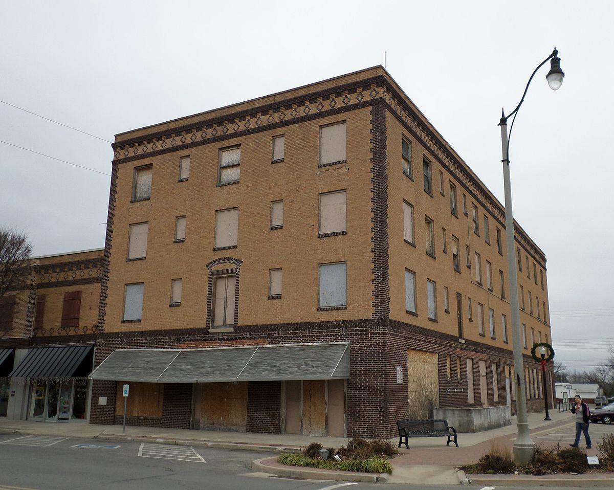 Hotel Aldridge Wewoka Oklahoma Wikipedia