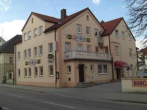 """EV Landshut - The former """"Sterngarten"""" tavern"""