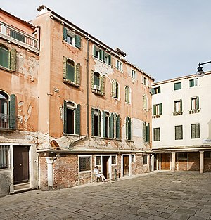 Francesco Guardi - House of Guardi in Cannaregio