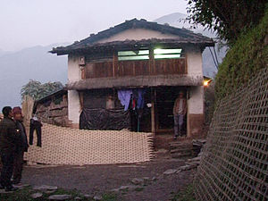 Ghale - House of VC Gaje Ghale in Gorkha District, Nepal