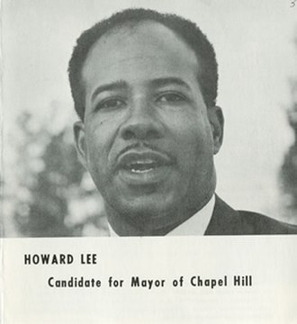 Howard Nathaniel Lee - Lee in a pamphlet published during his 1969 mayoral campaign