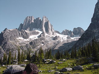 Howser Spire mountain in Canada