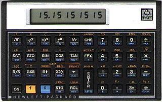 HP-15C Programmable scientific calculator produce by Hewlett-Packard