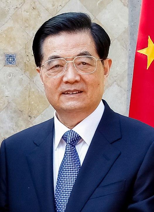 Hu Jintao with BRICS Leaders 2012