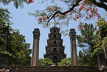 Pagode der himmlischen Frau, Wahrzeichen von Huế