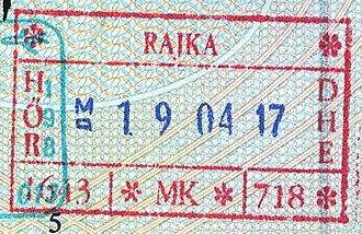 Rajka - Image: Hungary rajka 2