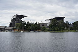 Husky stadium from Lake Washington.JPG