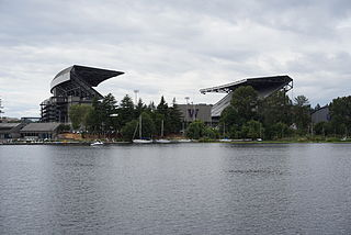 Husky Stadium stadium at the University of Washington