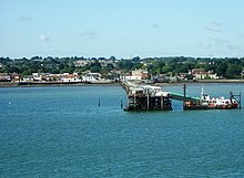 Hythe Pier from Southampton Water - geograph.org.uk - 330225.jpg