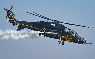 HAL Light Combat Helicopter - LCH TD1