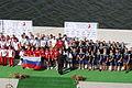 ICF World Dragon Boat Championships 2014 Senior Standard Boat 500 Meter Medal Ceremony Russia Poland Sweden.JPG