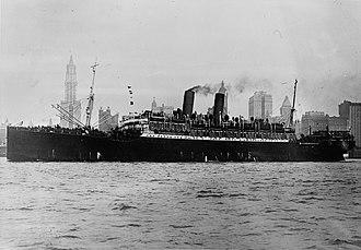 Norddeutscher Lloyd - SS Prinz Friedrich Wilhelm of 1907