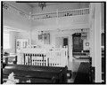 INTERIOR-VIEW FROM NORTHEAST - Woodbine Brotherhood Synagogue, 612 Washington Avenue, Woodbine, Cape May County, NJ HABS NJ,5-WOBI,1-9.tif
