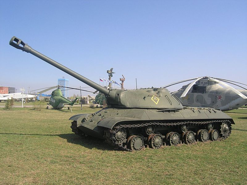 Datei:IS-3 in Technical museum Togliatti.jpg