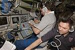 ISS-17 Sergei Volkov and Oleg Kononenko prepare the undocking of the ATV.jpg