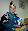 ISS-34 Kevin Ford with welcome home gifts.jpg