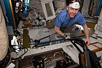 ISS-59 Nick Hague works inside the Tranquility module.jpg
