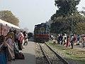 IZN YDM4 ^6531 with KSJ bound Gokul Express at Badaun - Flickr - Dr. Santulan Mahanta.jpg
