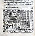 Iacobus de Cessolis, Libro di giuocho di scacchi, incunabolo, per maestro antonio miscomini, firenze 1 marzo 1493, 10 fabbro.jpg