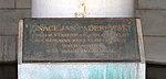 Igance Jan Paderewsky interior marker - USS Maine Mast Memorial - Arlington National Cemetery - 2013-03-15.jpg