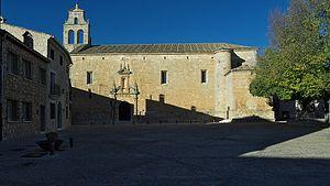 Alarcón - Church of San Juan Bautista.