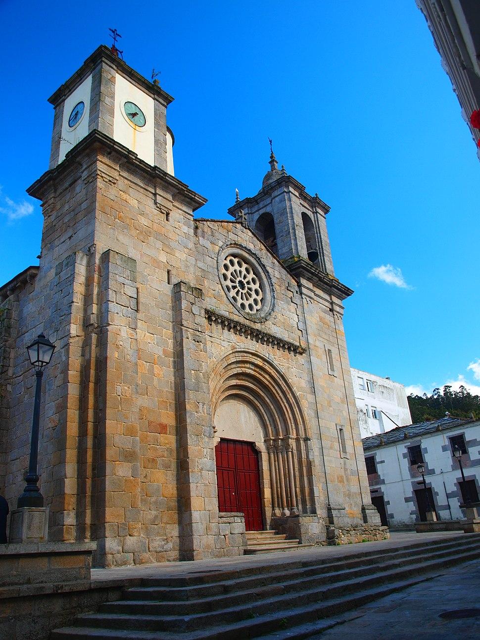 Igrexa de Santa María do Campo.