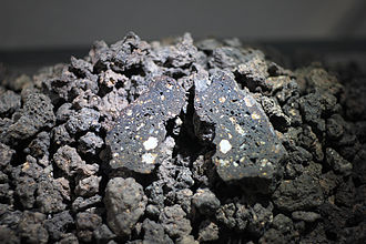 Impactite - An example of impactite on Earth