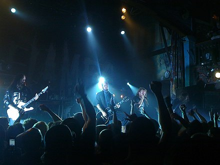 In Flames at House of Blues, New Orleans LA on 27 September 2009 InFlames92709.jpg