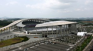Athletics at the 2014 Asian Games - Image: Incheon Asiad Main Stadium