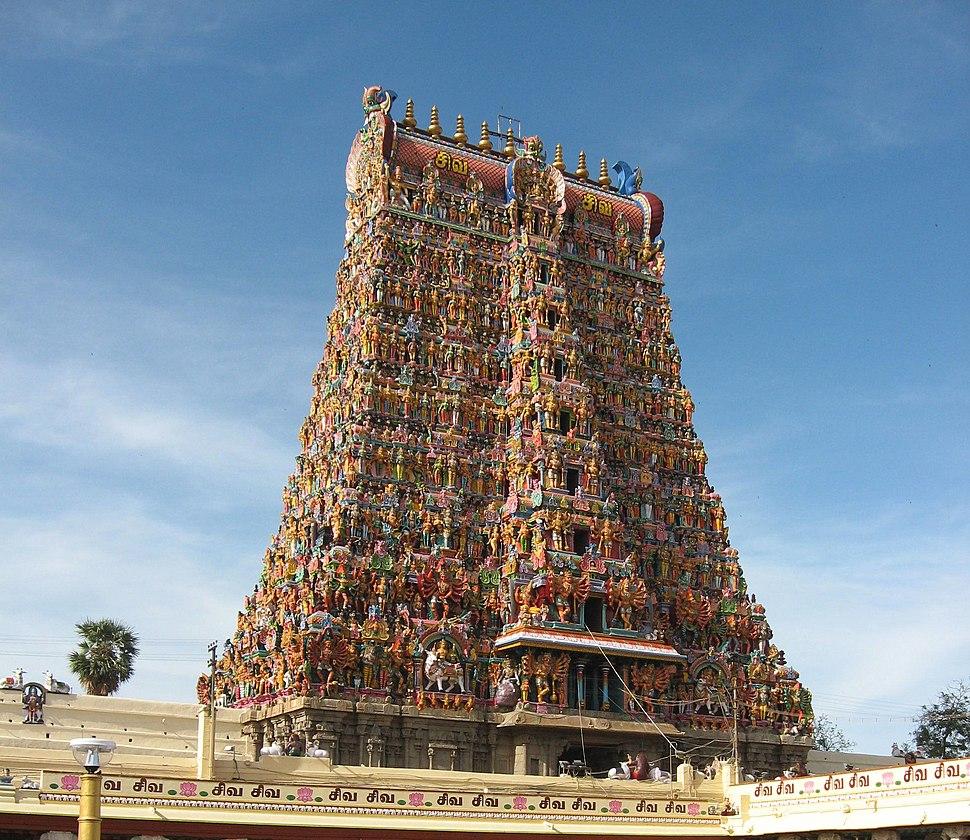 India Meenakshi Temple