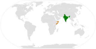 India–Somalia relations Diplomatic relations between the Republic of India and the Federal Republic of Somalia