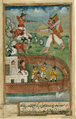 Indian Demons Attacking Fort Defended by European Troops WDL2947.png