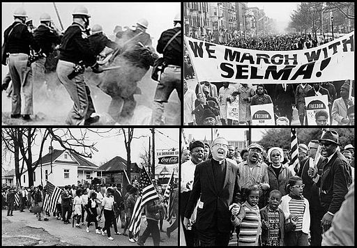 Infobox collage for Selma to Montgomery marches