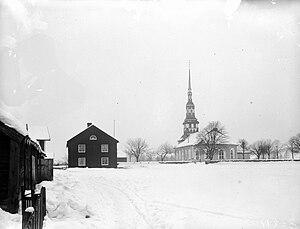 Småland - Ingatorp Old Church, Småland, Sweden, ca. 1895