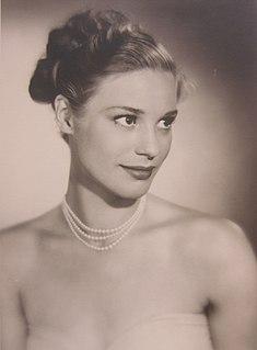 Ingrid Thulin Swedish actress