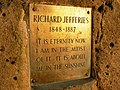 Inscription on Richard Jefferies-Alfred Williams memorial - geograph.org.uk - 243639.jpg