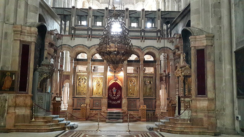 Inside the Church of the Holy Sepulchre - 18