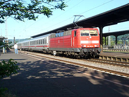 Intercity 432 nach Luxemburg in Wittlich Hbf