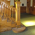 Interior of Allegany County Courthouse Stairway (25716909711).jpg