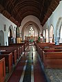 Interior of St Peter and St Paul's church, Worth, Kent.jpg